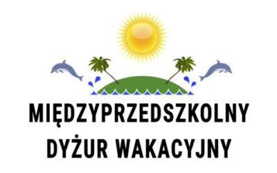 Międzyprzedszkolny dyżur wakacyjny aktualizacja 26.04.2021